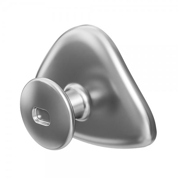 Precision Aligner Button / Klebeknöpfchen Metall (Inhalt: 25 Stck)