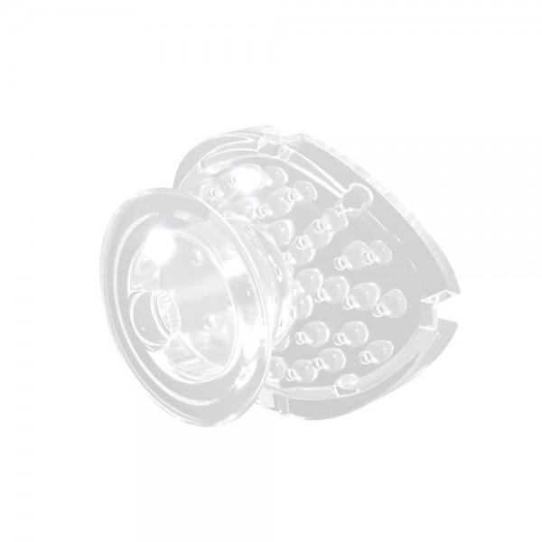 Precision Aligner Button / Klebeknöpfchen Transparent (Inhalt: 10 Stück)