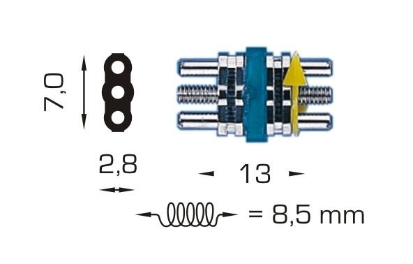 Edelstahl-Dehnschrauben - Micro (Inhalt: 100 Stück)