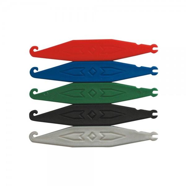 Einhängehilfen standard-farben gemischt (Inhalt: 100 Stück)