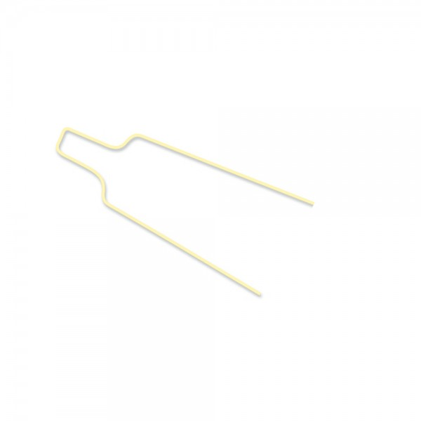 Drahtligaturen lang beschichtet, zahnfarben (.012) (Inhalt: 100 Stück)